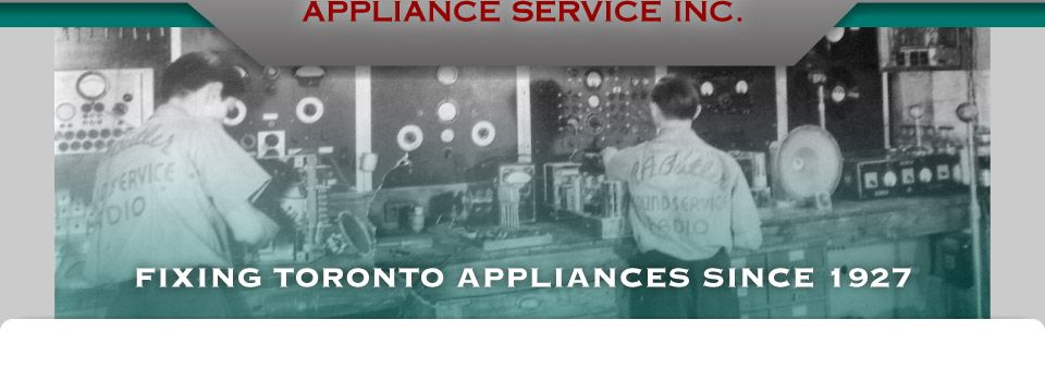 Fixing Toronto Appliances Since 1927 | Butler's Appliance Service storefront